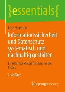 Inge Hanschke: Informationssicherheit und Datenschutz systematisch und nachhaltig gestalten, Buch
