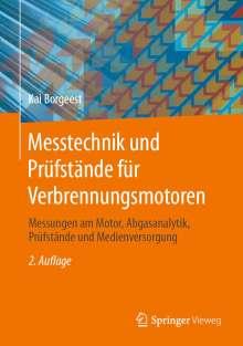 Kai Borgeest: Messtechnik und Prüfstände für Verbrennungsmotoren, Buch