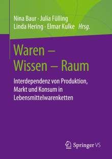 Waren - Wissen - Raum, Buch