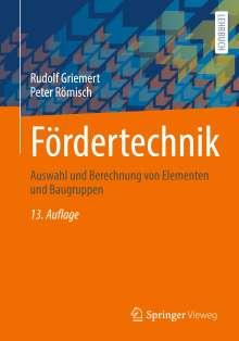 Rudolf Griemert: Fördertechnik, Buch