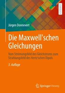 Jürgen Donnevert: Die Maxwell'schen Gleichungen, Buch