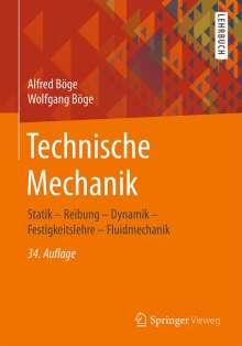 Alfred Böge: Technische Mechanik, Buch