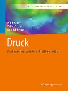 Peter Bühler: Druck, Buch