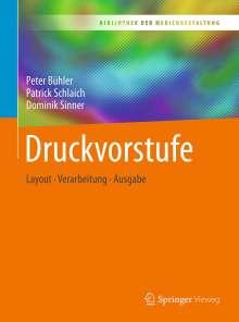 Peter Bühler: Druckvorstufe, Buch