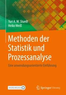 Yuri Shardt: Methoden der Statistik und Prozessanalyse, Buch