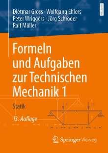 Dietmar Gross: Formeln und Aufgaben zur Technischen Mechanik 1, Buch