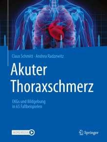 Claus Schmitt: Akuter Thoraxschmerz, Buch