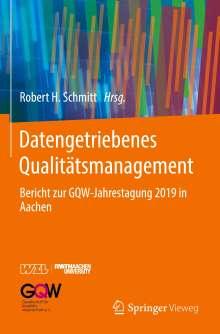 Datengetriebenes Qualitätsmanagement, Buch