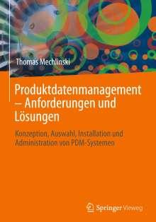 Thomas Mechlinski: Produktdatenmanagement - Anforderungen und Lösungen, Buch