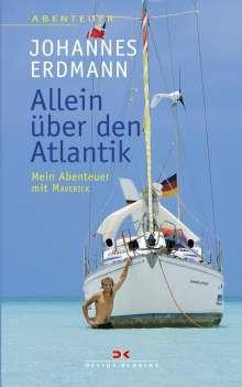Johannes Erdmann: Allein über den Atlantik, Buch