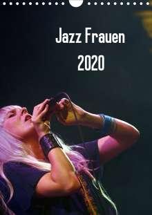 Gerhard Klein: Jazz Frauen 2020 (Wandkalender 2020 DIN A4 hoch), Diverse