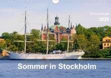 Evelyne Berger: Sommer in Stockholm 2020 (Wandkalender 2020 DIN A4 quer), Diverse