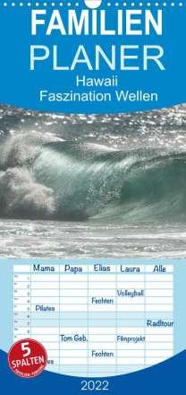 Rolf-Dieter Hitzbleck: Hawaii - Faszination Wellen (Wandkalender 2022 , 21 cm x 45 cm, hoch), Kalender
