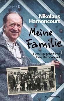 Nikolaus Harnoncourt: Meine Familie, Buch
