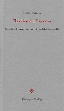 Didier Eribon: Theorien der Literatur, Buch