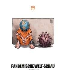 Pandemische Welt-Schau in Karikaturen, Buch