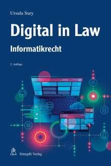 Ursula Sury: Digital in Law, Buch