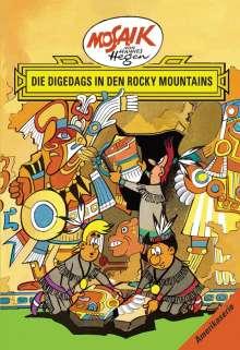 Lothar Dräger: Die Digedags, Amerikaserie 05.Die Digedags in den Rocky Mountains, Buch