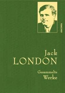 Jack London: Jack London - Gesammelte Werke (Leinen-Ausgabe), Buch