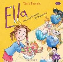 Timo Parvela: Ella und ihre Freunde als Babysitter, CD