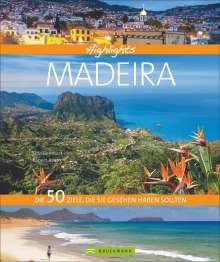 Udo Bernhart: Highlights Madeira, Buch