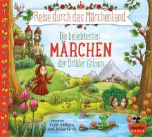 Jacob Grimm: Reise durch das Märchenland - Die beliebtesten Märchen der Brüder Grimm (Audio-CD), 2 CDs