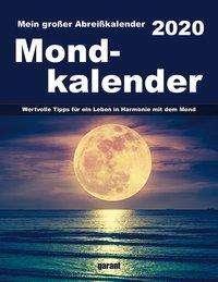 Mond 2020 Abreißkalender, Diverse