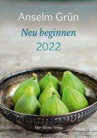 Anselm Grün: Neu beginnen 2022, Kalender