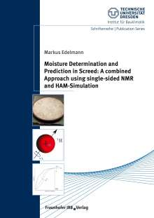 Markus Edelmann: Moisture Determination and Prediction in Screed: A combined Approach using single-sided NMR and HAM-Simulation., Buch
