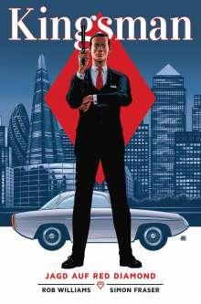 Rob Williams: Kingsman - Jagd auf Red Diamond, Buch