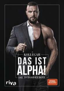 Kollegah: Das ist Alpha!, Buch