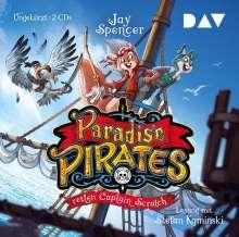 Jay Spencer: Paradise Pirates retten Captain Scratch (Teil 2), 2 CDs