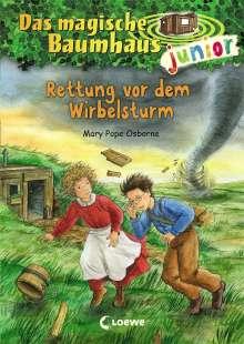 Mary Pope Osborne: Das magische Baumhaus junior (Band 21) - Rettung vor dem Wirbelsturm, Buch