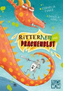 Cornelia Funke: Rittermut und Drachenblut, Buch