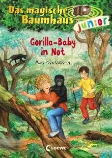 Mary Pope Osborne: Das magische Baumhaus junior 24 - Gorilla-Baby in Not, Buch