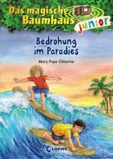 Mary Pope Osborne: Das magische Baumhaus junior 25 - Bedrohung im Paradies, Buch