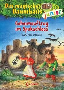 Mary Pope Osborne: Das magische Baumhaus junior (Band 27) - Geheimauftrag im Spukschloss, Buch