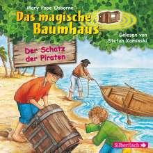 Das magische Baumhaus-Der Schatz der Piraten Bd., CD