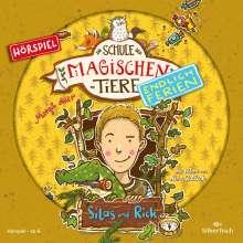 Margit Auer: Die Schule der magischen Tiere - Endlich Ferien 2 - Silas und Rick (Hörspiel), CD