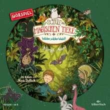 Margit Auer: Die Schule der magischen Tiere - Hörspiele 11: Wilder, wilder Wald! Das Hörspiel, CD