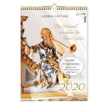 Ludwig Güttler: BachEntdeckungen 2020 - Kalender im Posterformat mit CD, Diverse