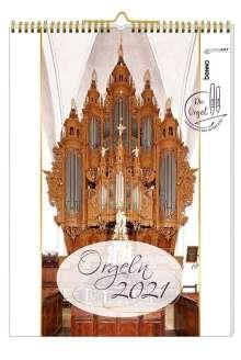 Die schönsten Orgeln 2021 ohne CD, Kalender