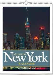 Literarischer New York Kalender 2020, Diverse