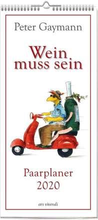 """Peter Gaymann """"Wein muss sein"""" 2020 Monatsplaner, Diverse"""
