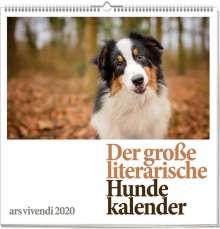 Der große literarische Hunde-Kalender 2020, Diverse