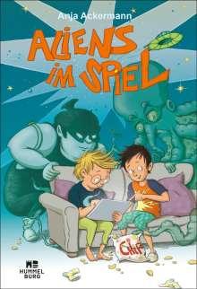 Anja Ackermann: Aliens im Spiel, Buch