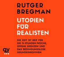 Rutger Bregman: Utopien für Realisten, CD