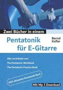 Bernd Kofler: Pentatonik für E-Gitarre, Buch