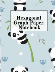 Crafty Hexagon: Hexagonal Graph Paper Notebook, Buch