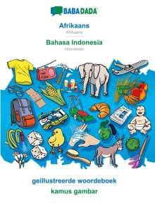 Babadada Gmbh: BABADADA, Afrikaans - Bahasa Indonesia, geillustreerde woordeboek - kamus gambar, Buch